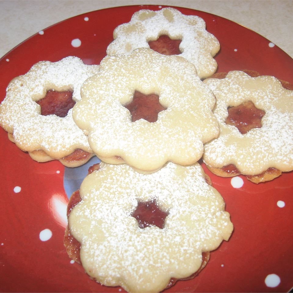 Linzer Torte Cookies JuliBurke