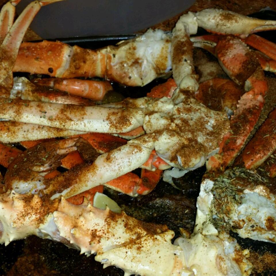 Steamed Lemon Grass Crab Legs Audra P. Jackson