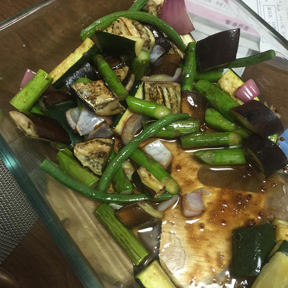 Grilled Vegetable Salad davidferns