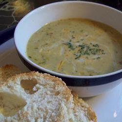 Vegetable Cheese Soup I VeggieCarrie