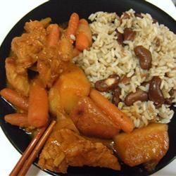 Korean Spicy Chicken and Potato (Tak Toritang) Misha