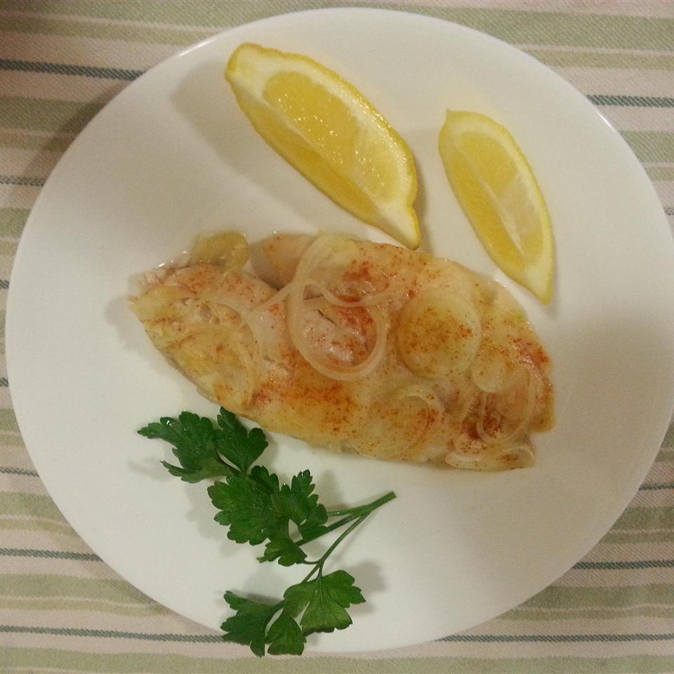 Baked Tilapia in Garlic and Olive Oil Eat