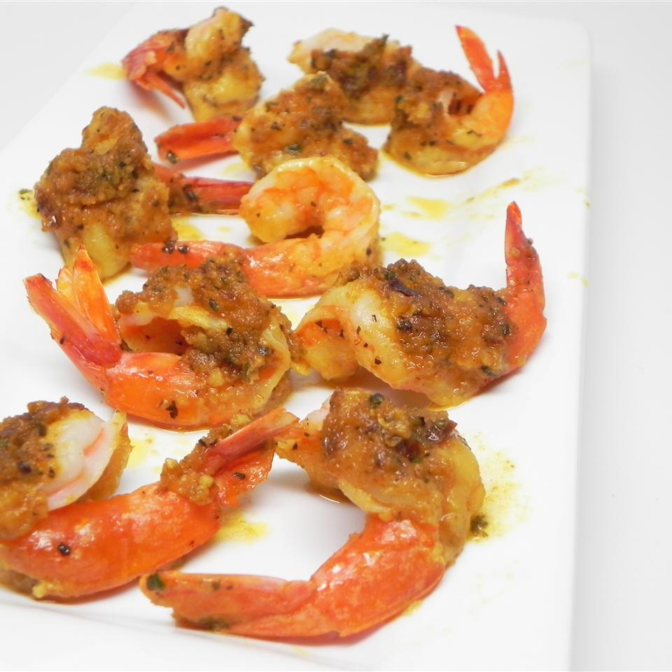 Monica's Japanese Garlic Dollop Shrimp ChgoFoodieGal