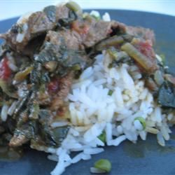 Beef and Spinach Curry Kristen