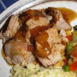 Slow Cooker Teriyaki Pork Tenderloin