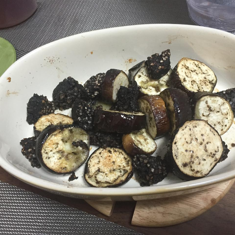 Olive Oil Roasted Eggplant with Lemon davidferns