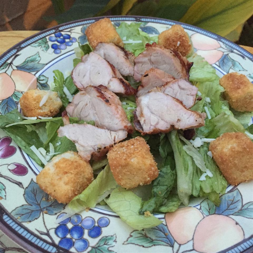 Pork Caesar Salad from Smithfield® Arizona Desert Flower
