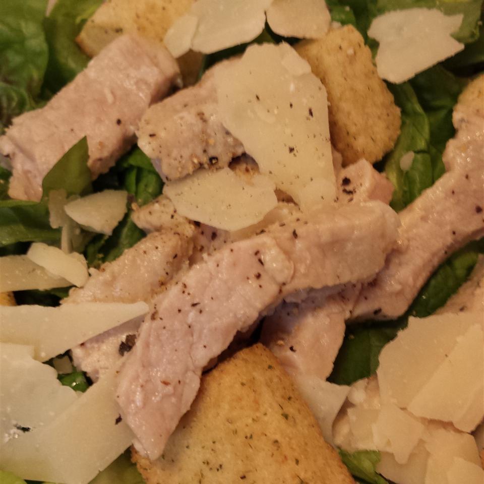 Pork Caesar Salad from Smithfield® Liz Dalton 'Lizzie'