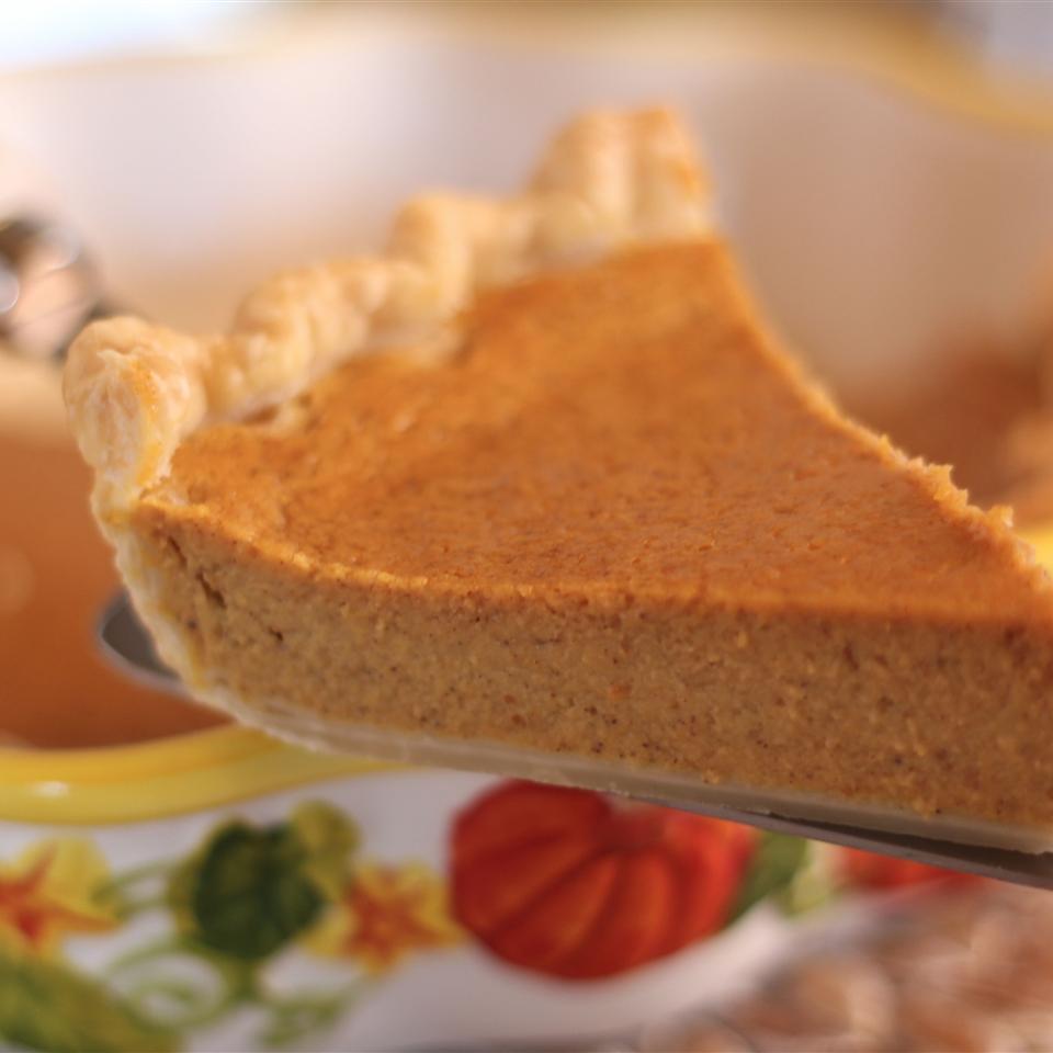 Pumpkin Custard Pie II
