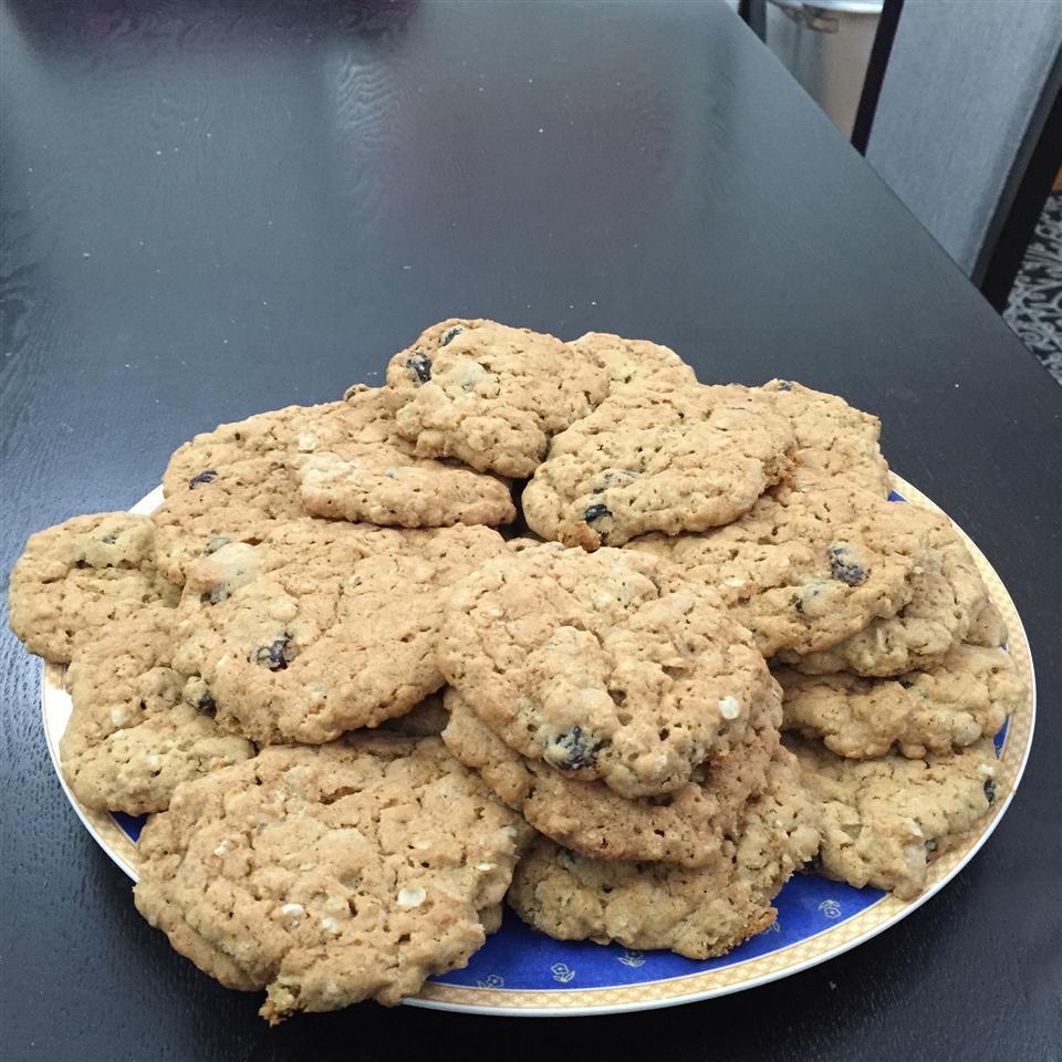 Oatmeal Raisin Cookies IV Brenda Bergeron