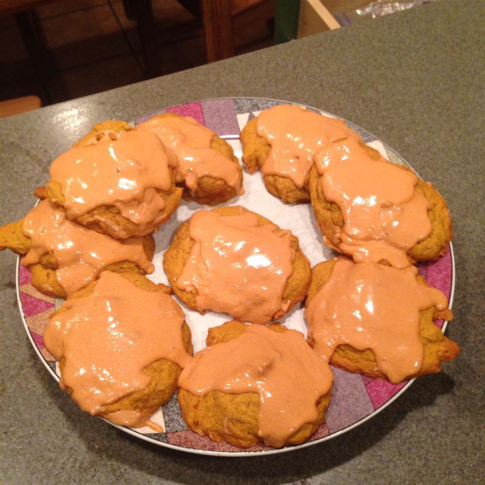 Pumpkin Cookies with Penuche Frosting Christian Parker