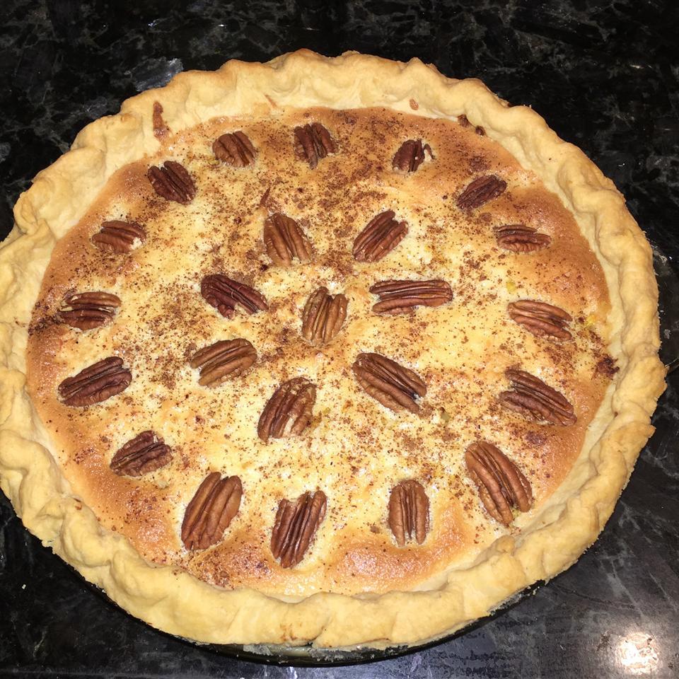 Mock Coconut Pie (Spaghetti Squash Pie) Linda Romens