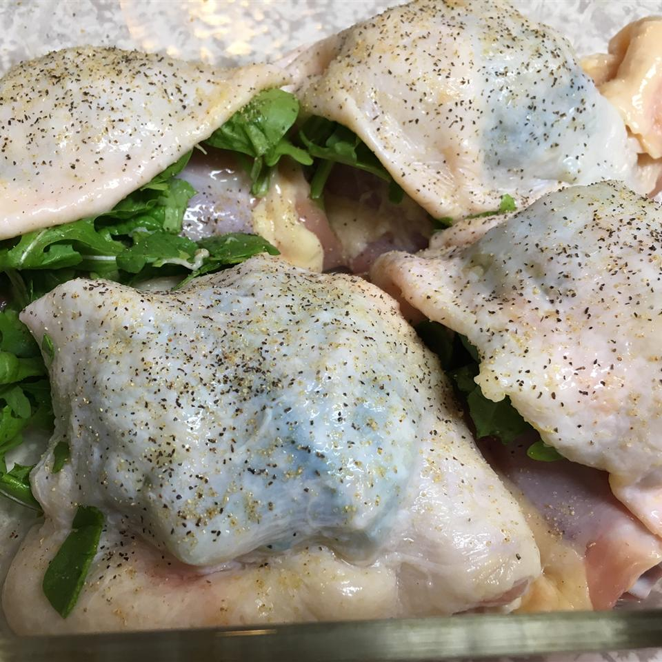 Easy Spinach and Arugula Chicken leem11711