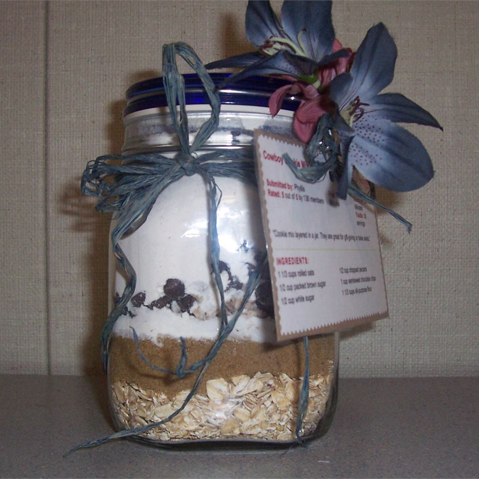 Cowboy Cookie Mix in a Jar