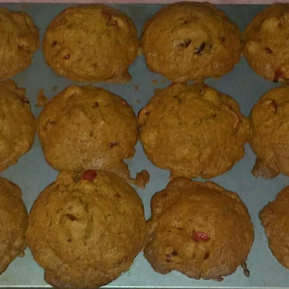 Quick Cranberry Pumpkin Muffins Alyson Dawn Clare