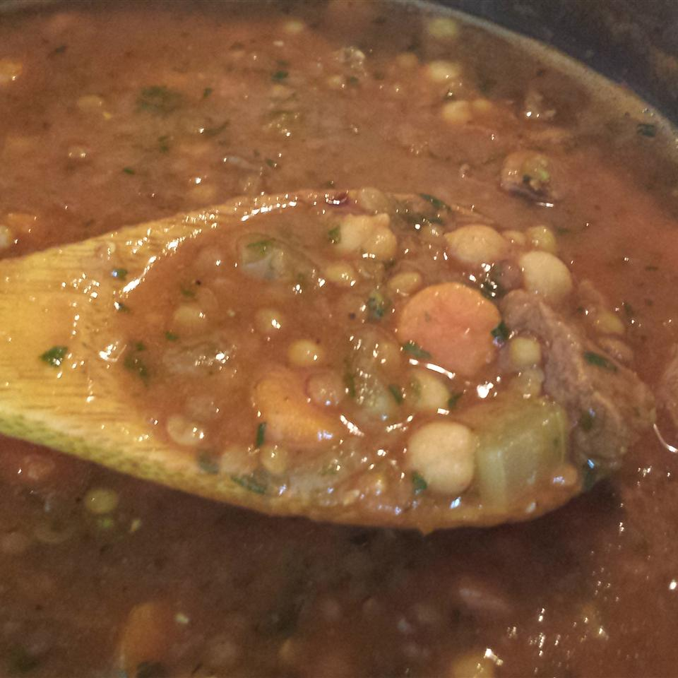 Moroccan Lentil Soup Casablancaise