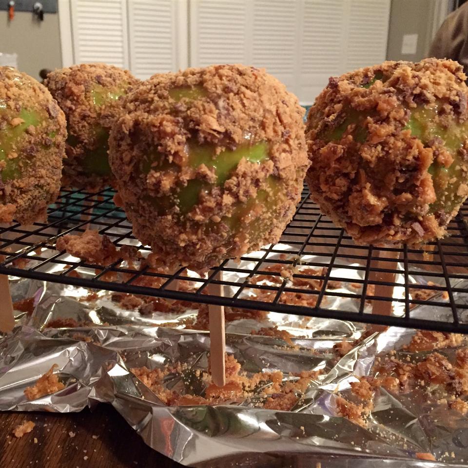 Peanut Butter Crunch Apples Allrecipes