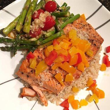 pan seared salmon ii recipe