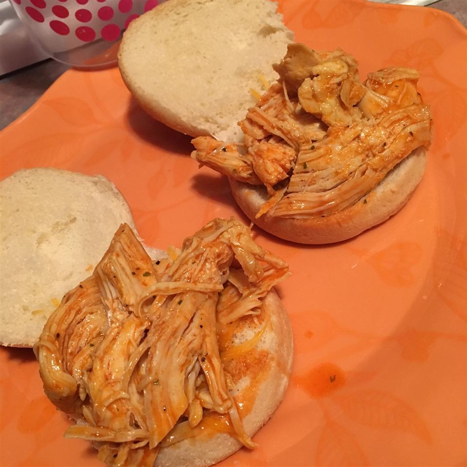 Slow Cooker Buffalo Chicken Sandwiches Tlholman1