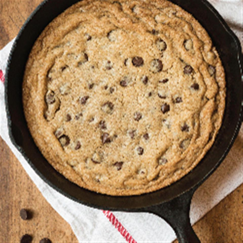 Skillet Chocolate Chip Cookie Sundae Trusted Brands