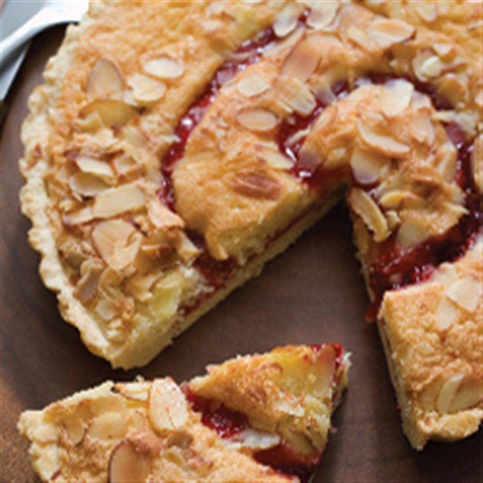 Streusel Topped Cranberry Pear Tart Trusted Brands
