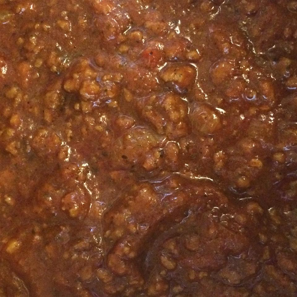 Spaghetti Sauce with Ground Beef