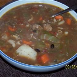 Jack's Old-Fashioned Beef and Vegetable Soup bub6958