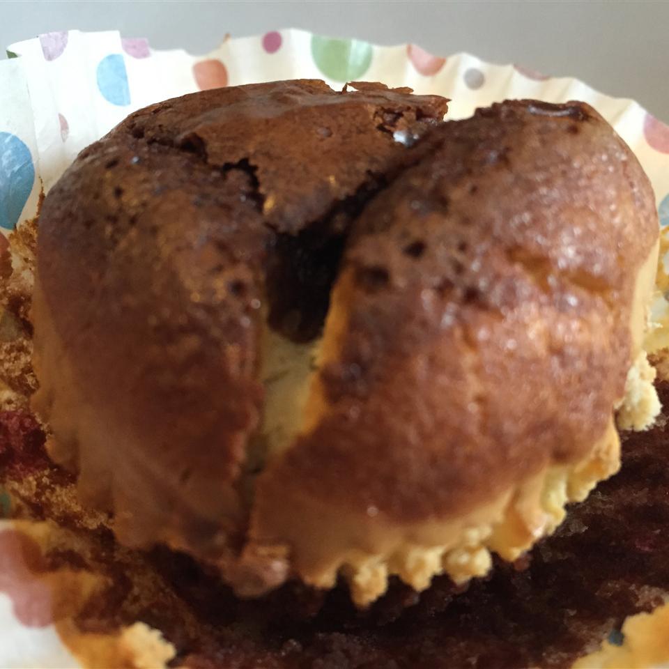 Brownie Cheesecake Cupcakes Aura