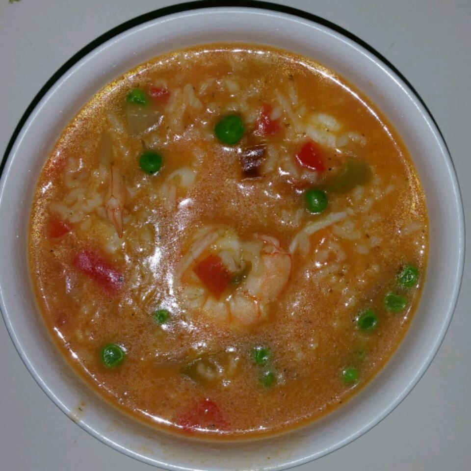 Shrimp Asopao Carlos Amos Borges