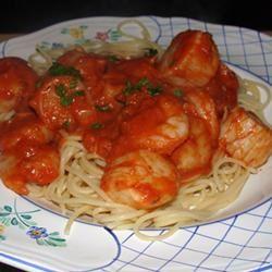 Shrimp, Clams, and Scallops Pasta sg