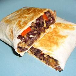 Black Bean and Artichoke Burritos Aldo