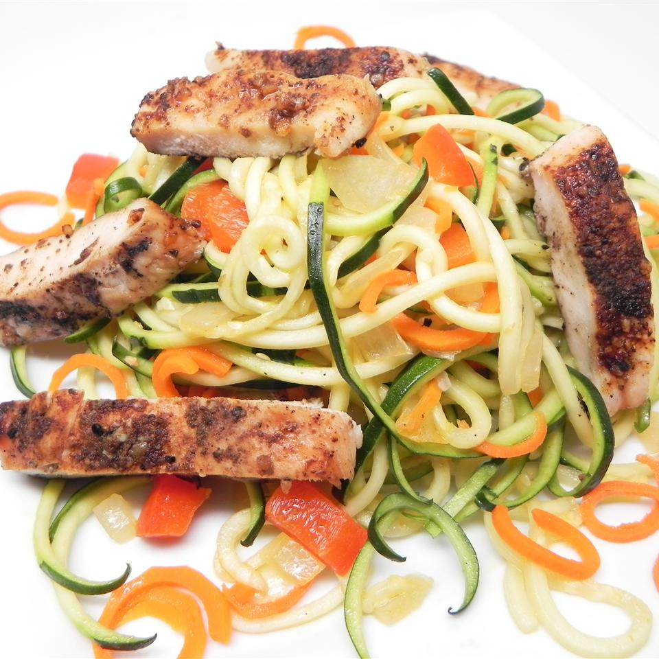 Vinaigrette Chicken and Vegetables tonia.st