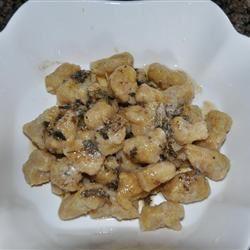 Acorn Squash Gnocchi with Parmesan Sage Beurre Blanc LaurenMV