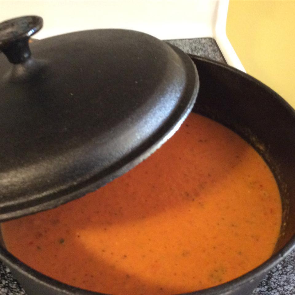 Fire-Roasted Tomato Soup Tanya Woldbeck Pellettiere