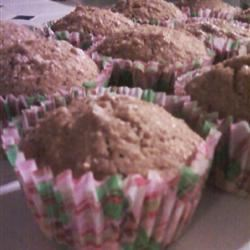 Whole Wheat Muffins Miss. Sweet Pea