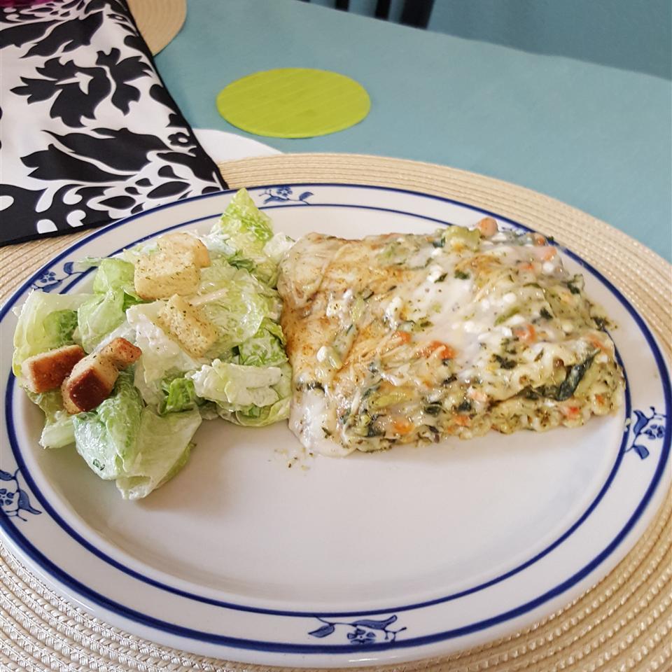 Broccoli and Carrot Lasagna
