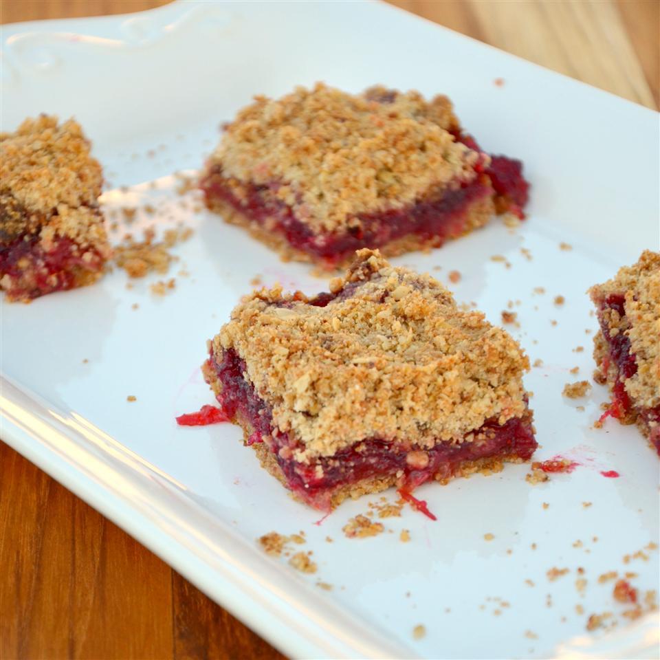 Cranberry Jam Bars