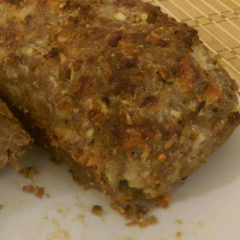Cheesy Apple and Oat Meatloaf Valeriy Zhykharevych