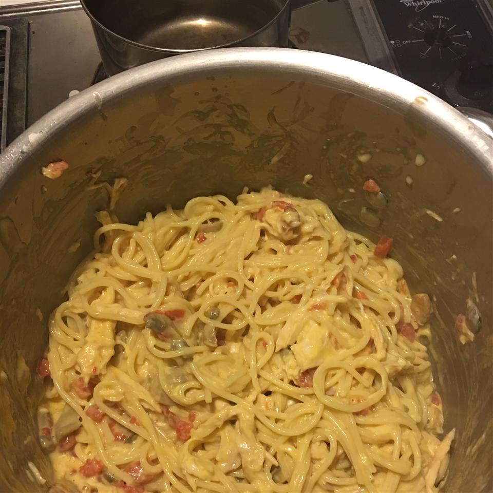 Quick and Easy Chicken Spaghetti