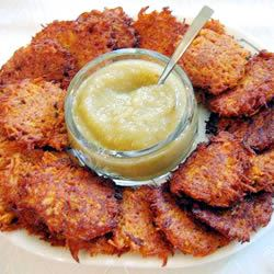 Sweet Potato Latkes Jodie