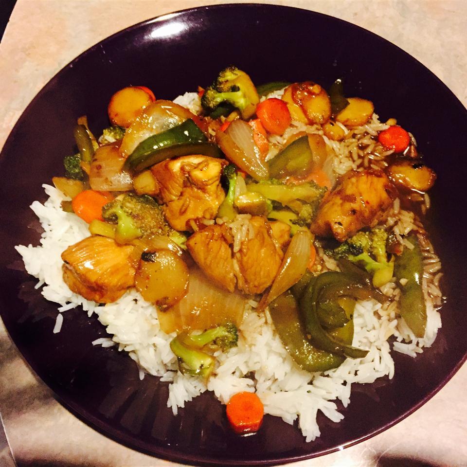 Chicken Stir-Fry Lisa Kelley