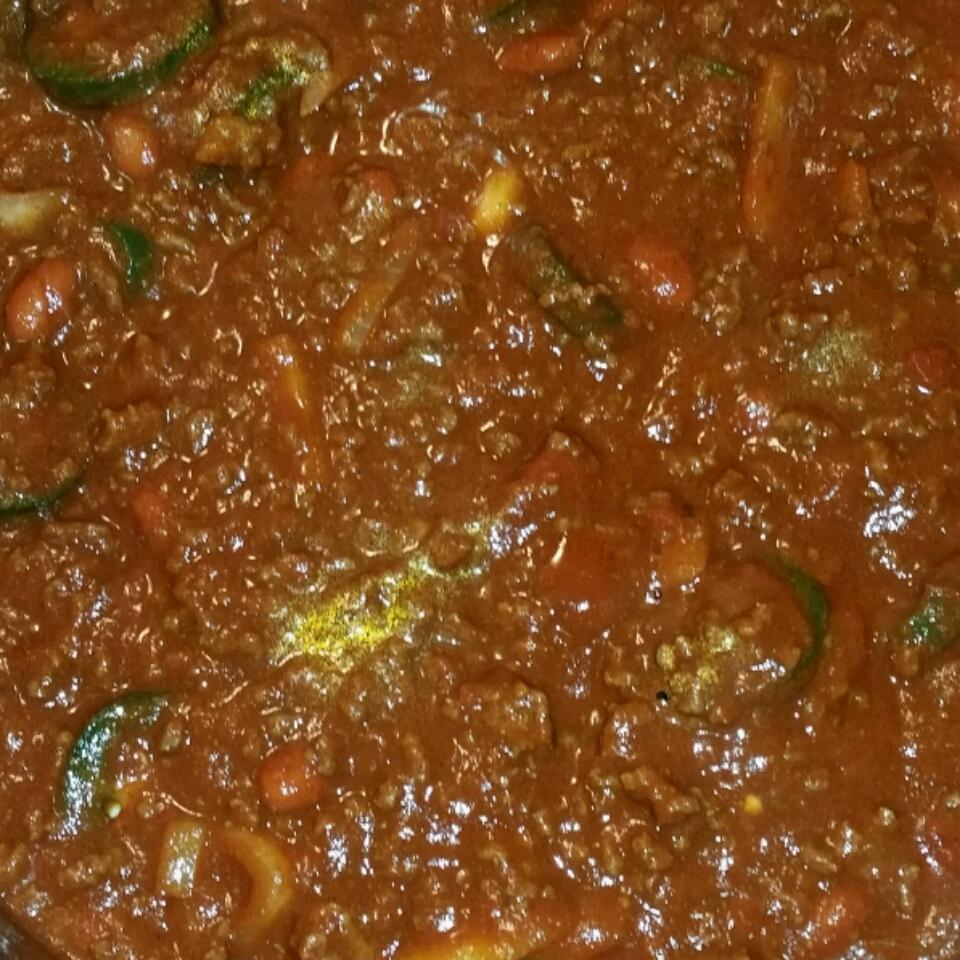 Quick and Spicy Chili