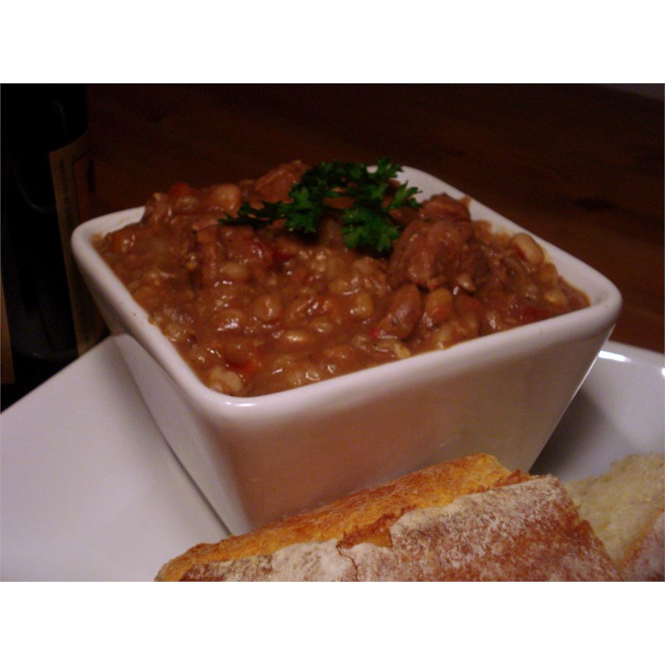 Beef, Bean and Barley Stew