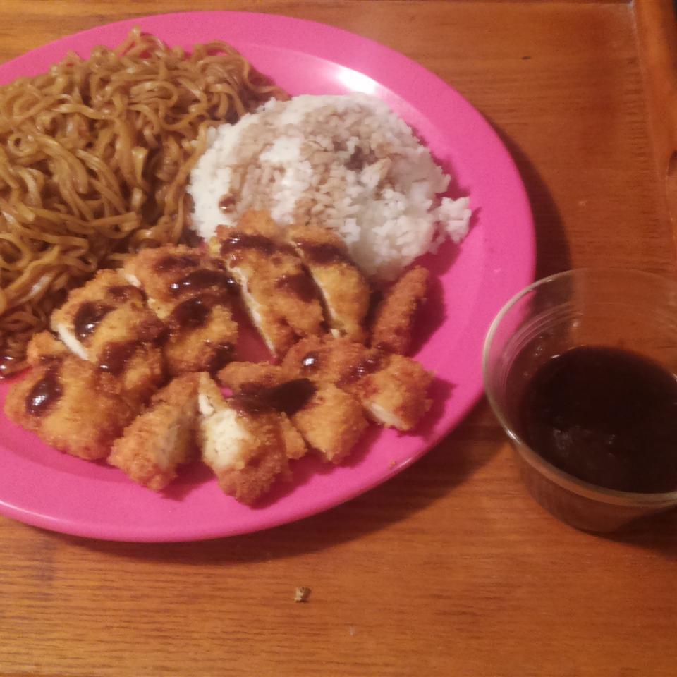 Ashley's Chicken Katsu with Tonkatsu Sauce Robert aragon