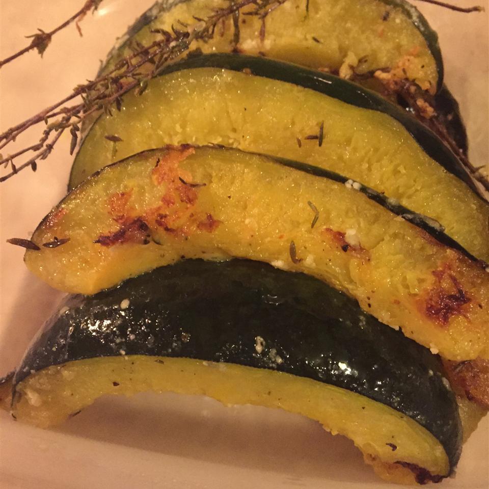 Parmesan Roasted Acorn Squash Rosita Camacho