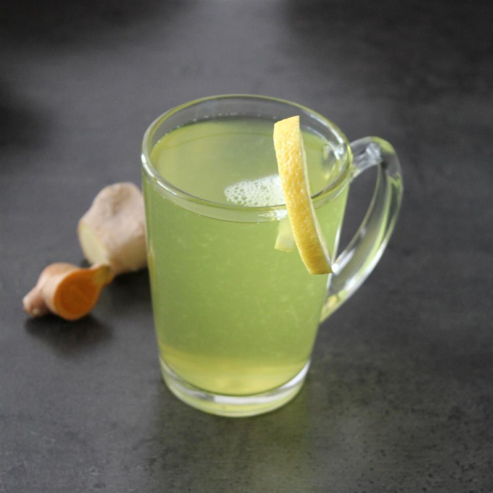 Ginger-Turmeric Herbal Tea Buckwheat Queen