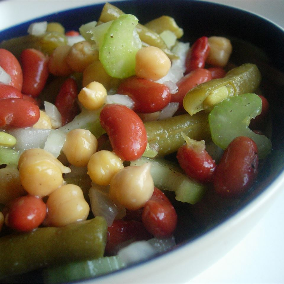 No-Sugar Three Bean Salad larkspur