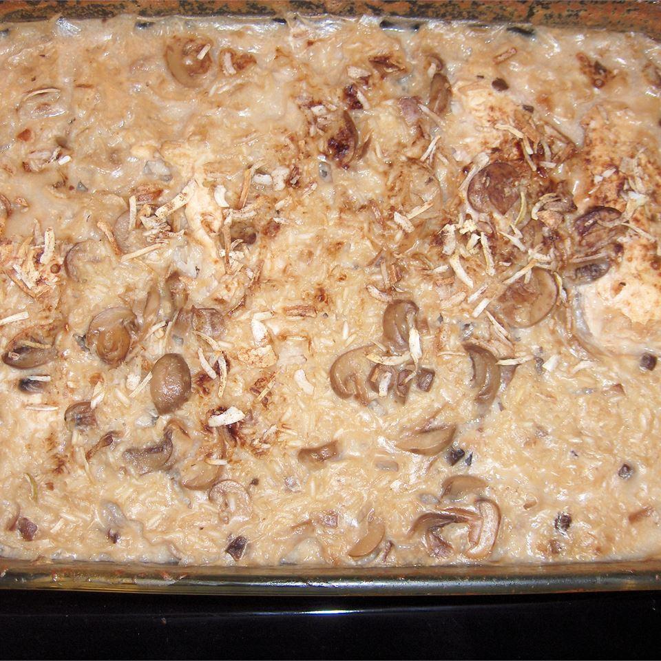 Baked Chicken on Rice s10stylez