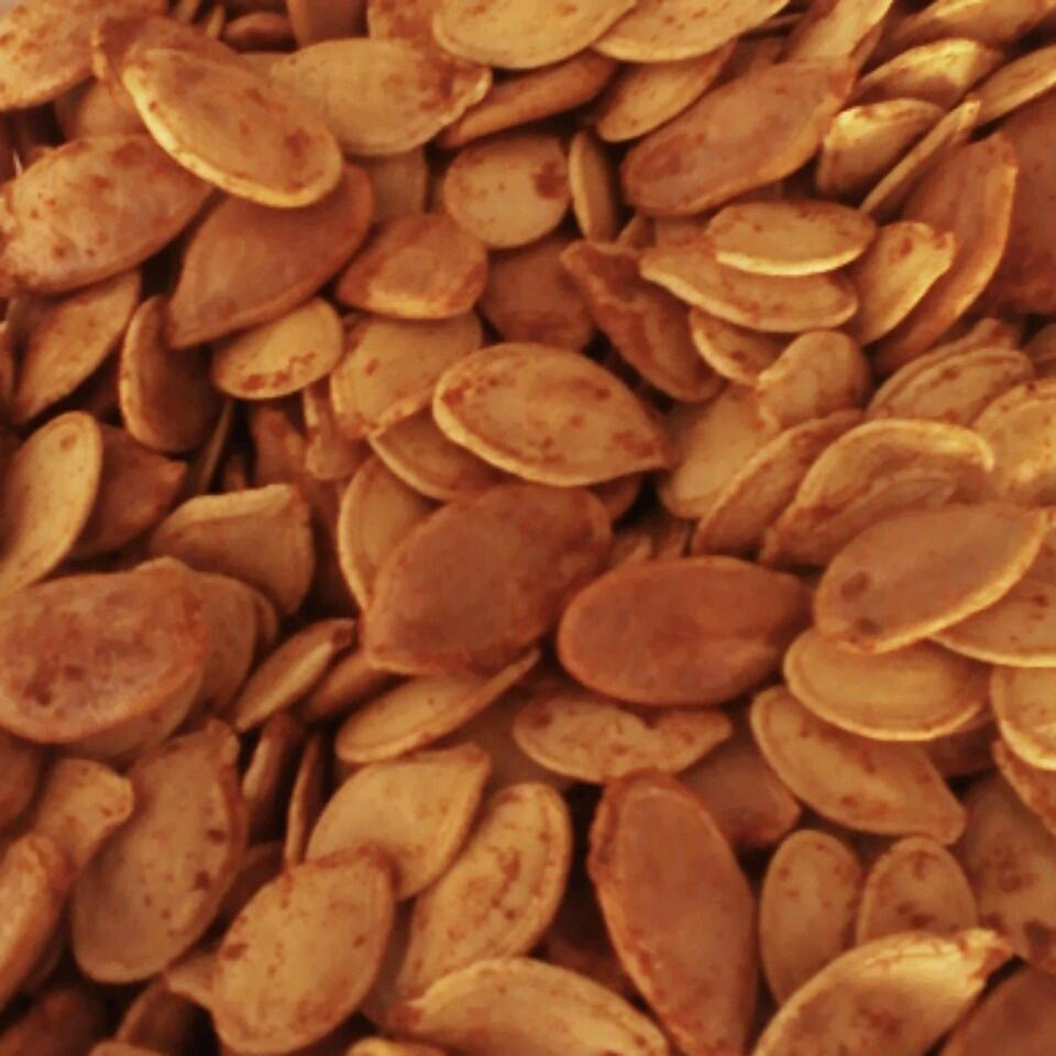 Mexican-Spiced Pumpkin Seeds April Dolan
