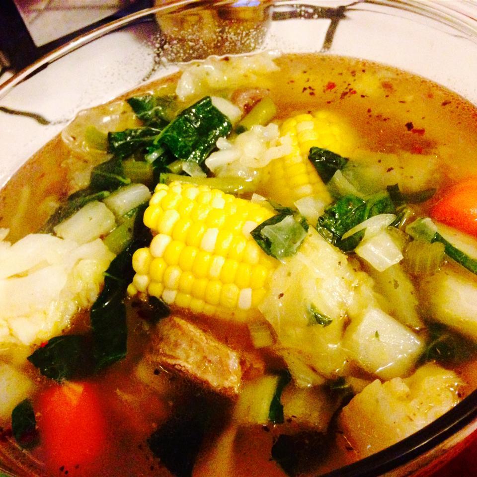 smoky sweet pea soup recipe